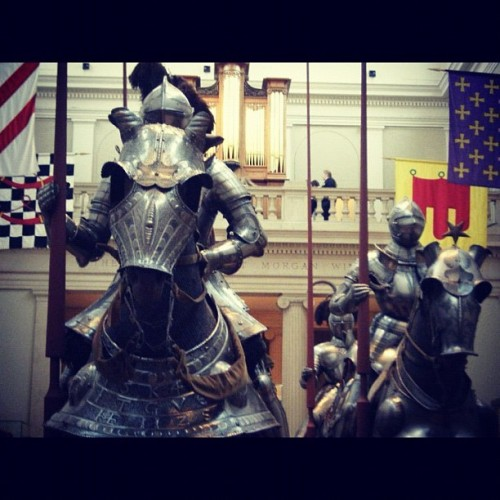 Knights at the Met (Taken with instagram)