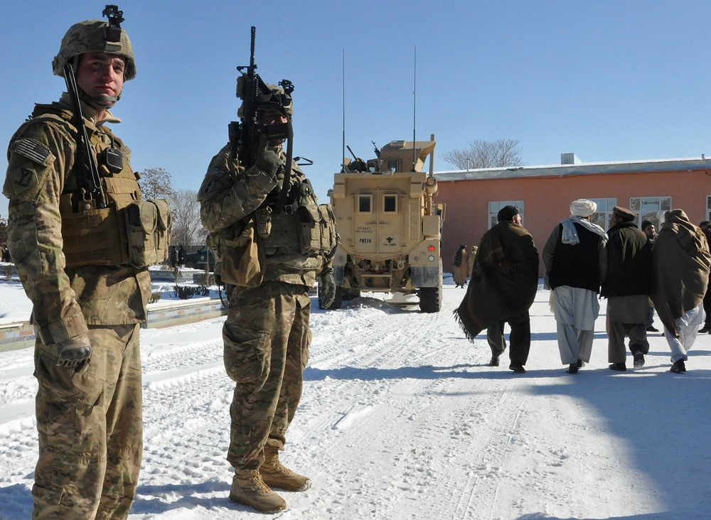 "U.S. surprises Kabul with early end to Afghanistan military operationsThe United States took Kabul by surprise by laying out plans to end its Afghan combat role earlier than expected, just after the leak of a secret report that the Taliban is confident of regaining control of the country.U.S. Defense Secretary Leon Panetta said late on Wednesday the United States would stop taking the lead role in combat operations before the end of 2013 and step into a supporting role as it winds down its longest war.He said U.S. forces would remain ""combat-ready"" but would largely shift to a train-and-assist role as Afghan forces take over responsibility for security ahead of a 2014 deadline for full Afghan control. (Photo: Aref Yaqubi//AFP/Getty Images)"