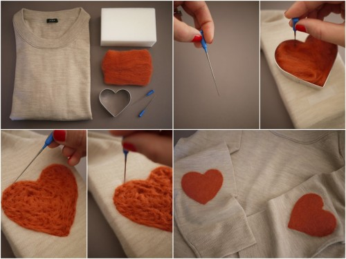 misswallflower:  DIY Elbow Patch