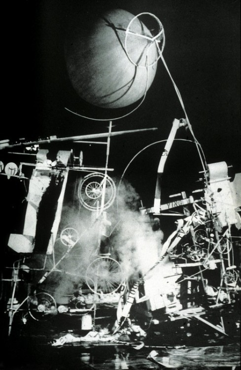 """Homage to New York"" (1960s) - Jean Tinguely; disassembling device also known as a Happening"
