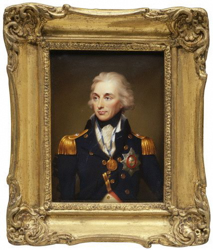 Horatio Nelson by Henry Pierce Bone, after Lemuel Francis Abbottenamel on copper, 1840 (1797)5 1/2 in. x 4 1/8 in. (140 mm x 105 mm)Transferred from National Gallery, 1994NPG 6294
