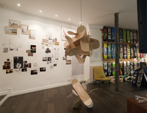 OzCollective's Wall Project @Element Store Paris Bucky Flip 6&12 + Oz past projects http://www.element-paris.com/element-wall-project.html/