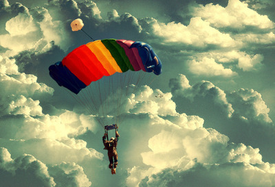 I'll barefoot-parachute my way to freedom. Doesn't matter how long it takes.