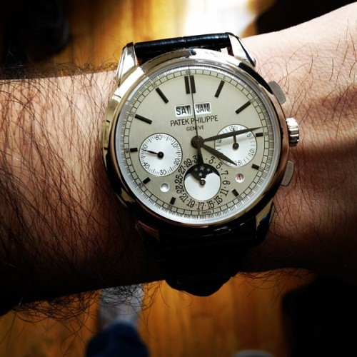 Patek 5270 is #womw (Taken with instagram)