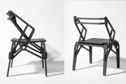 plastolux:  NO glue, nails or screws - Puzzle for living chairs by Konstantin Achkov