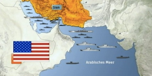 Try to imagineIranian aircraft carriers anchoring in the Gulf of Mexico. Preposterous, right? So why does our military get a free pass to camp out in the Persian Gulf? Keep reading …