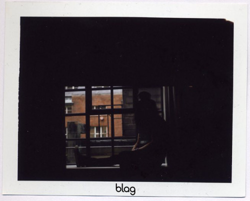 2010 - 2011 | BLAG Vol.3 No 2 Slash photoshoot polaroids Photography by Sarah