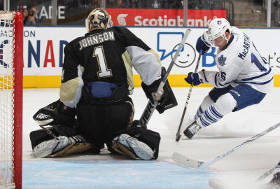 Toronto Maple Leafs vs. The Pittsburgh Penguins