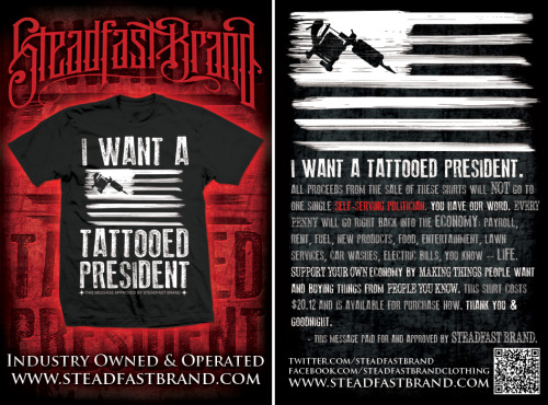 Shirt Design & 4x6 Flyer for Steadfast Brand