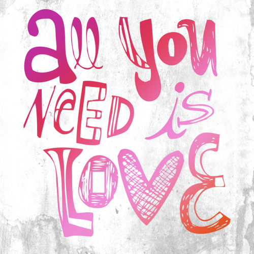 All you need is love ♥ The Beatles BUY