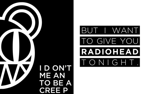 Valentine's Day Cards #2: Radiohead. Download - .PDF Format, CMYK, 3.2MB. Great to give to your passionate lover but not appropriate to give to a sibling.