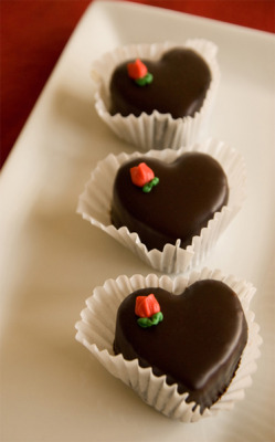 scrumptions:  Valentine's Day treats from Scrumptions! Photo - Options Photography