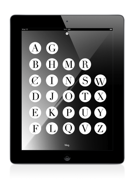 2011 | BLAG Deluxe App for iPad Vertical extracts Design by Sally in association with Quark Free preview with In-App purchase for much more original content http://itunes.apple.com/gb/app/blag-deluxe-app/id430854124?mt=8