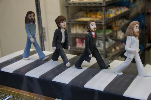 Beatles Abbey Road Cake