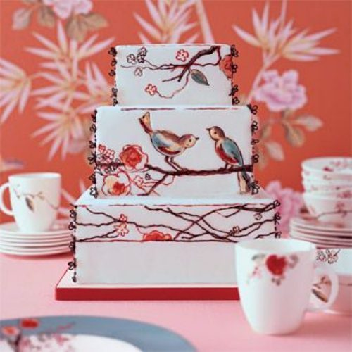 Painted Bird Cake