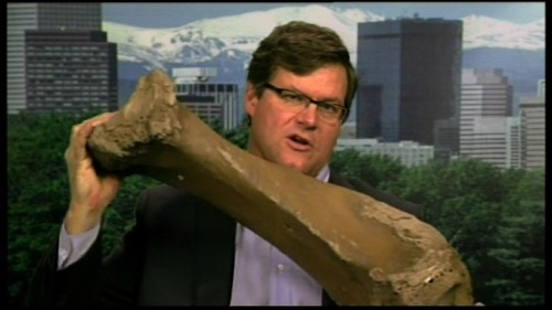 Look- the tibia of a mastodon! The story of a bulldozer operator who discovered a mammoth (get it?) trove of bones from ice age mammals, including mammoths, ground sloths and mastodons.  -TG