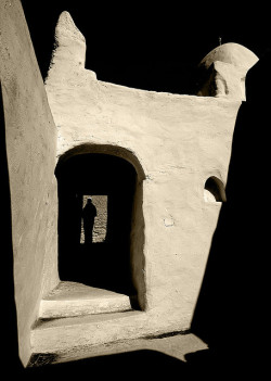endilletante:  Mosque in Ghadames old town, Libya by Eric Lafforgue on Flickr.