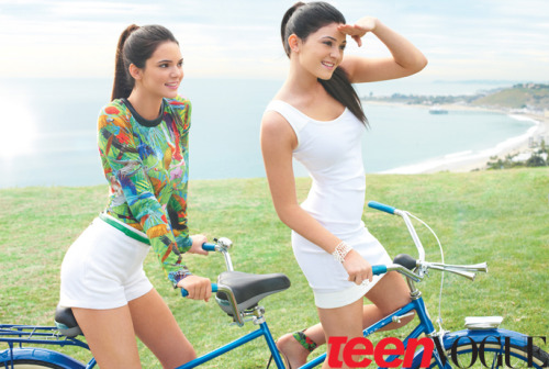 Teen Vogue.Usa.Kylie & Kendall Jenner