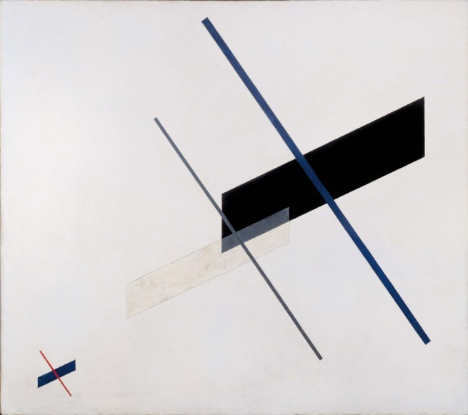 László Moholy-Nagy, Composition A XI 1923 Oil on canvas Image: 115.6 x 131.1 cm. Frame: 118.8 x 133.7 cm © Hattula Moholy-Nagy/VEGAP 2011, found at artblart