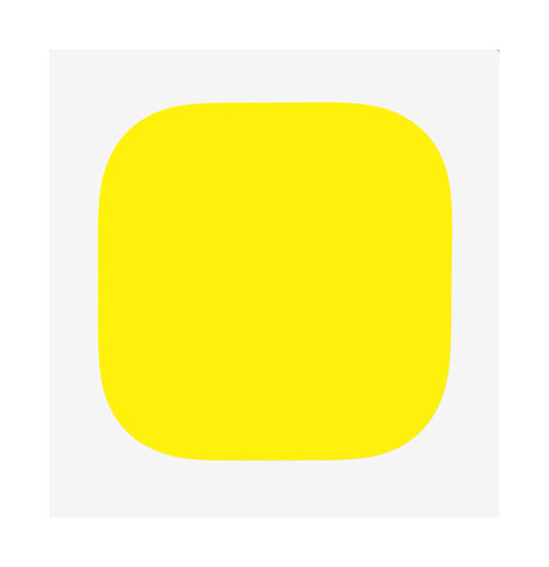 It doesn't get more yellow than this. aminuteofperfection:  Ellsworth Kelly
