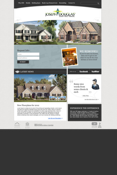web site for Joseph Douglas Builders