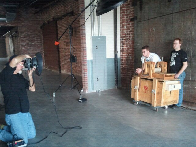 The print factory for the pcti photo shoot