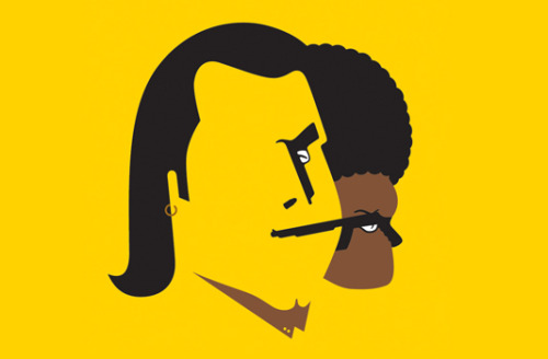 Negative Space Illustrations By Noma BarLike this? Click here for more images