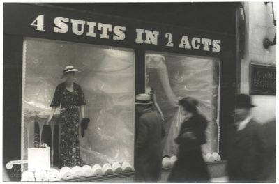 Photo by Carl Van Vechten. Windows in Gimbel Brothers Dept. Store. April 19, 1934.