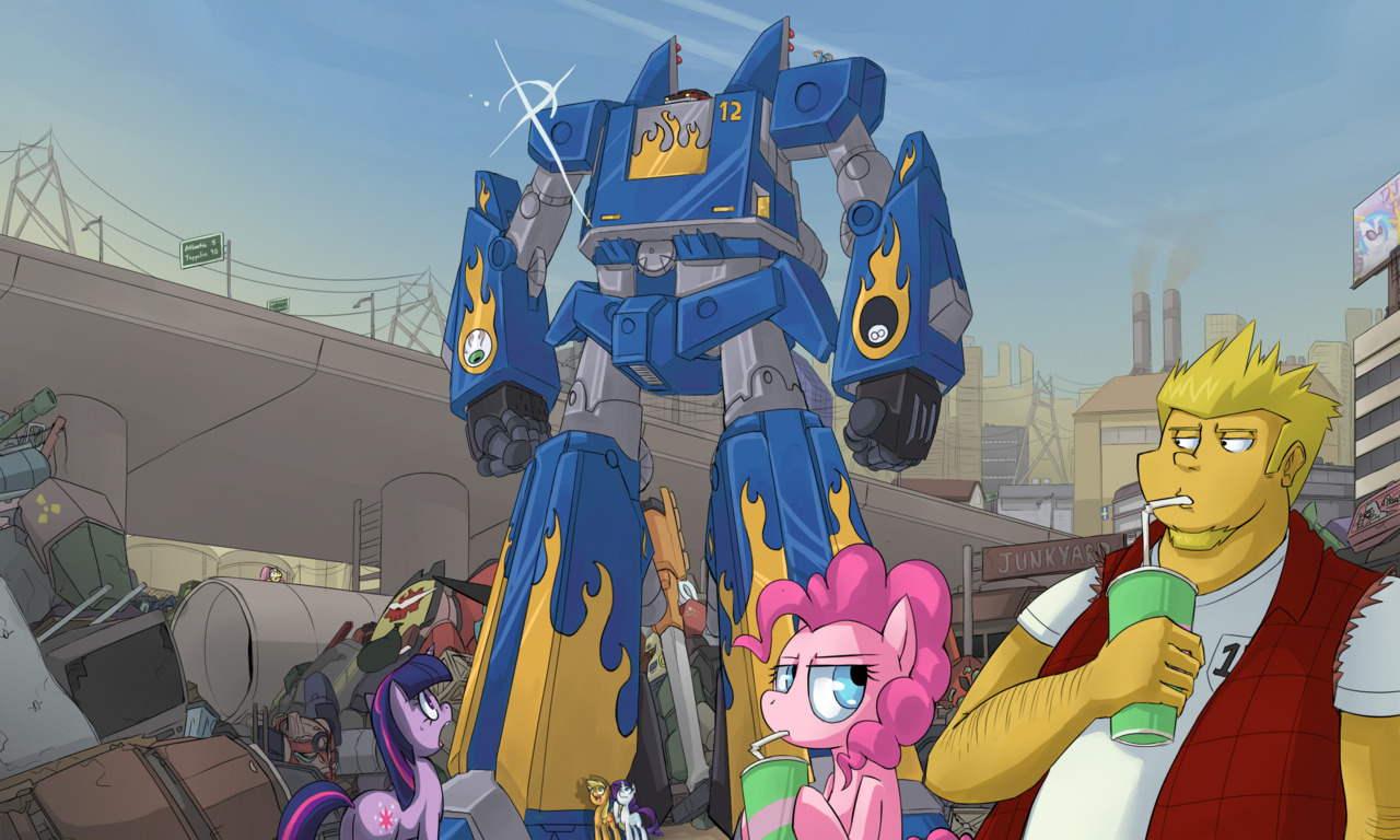 I don't know about you guys… But I dig giant robots >:3