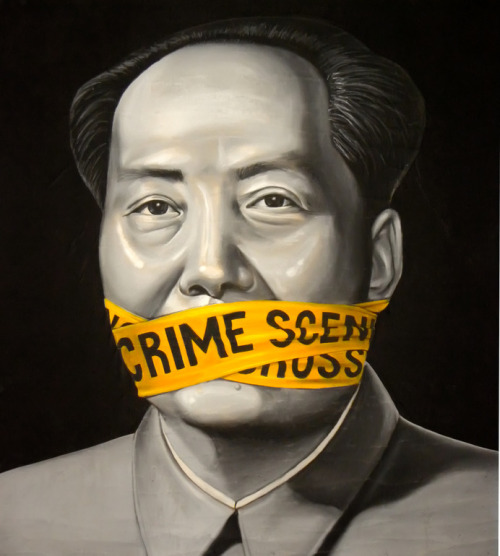 darksilenceinsuburbia:  Gianluca Traina. Mao Tse Tung and the Chinese Revolution, 2010.