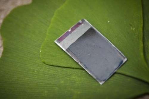 Fake Leaf is Twice as Efficient as the Real Thing http://www.nextnature.net/2012/01/fake-leaf-is-twice-as-efficient-as-the-real-thing/