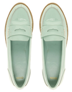 what-do-i-wear:  ASOS - Macabee Patent Loafer.