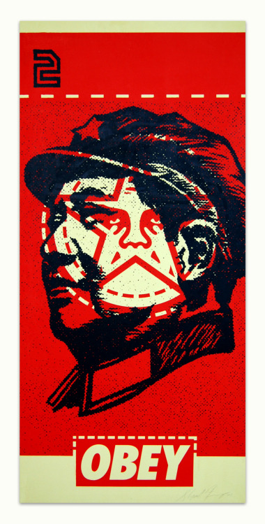 Shepard Fairey's Mao collage