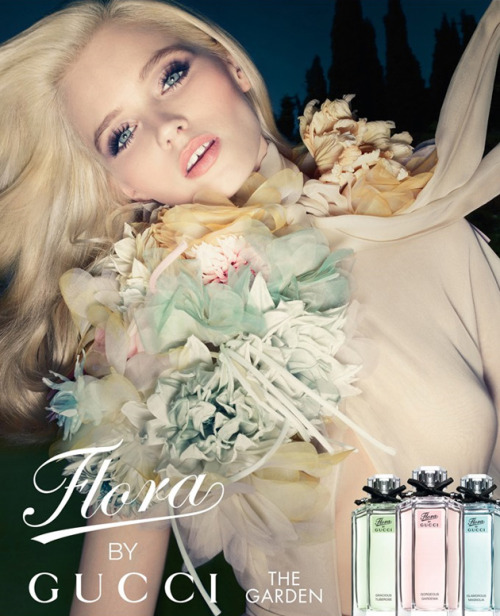 cocochic:  Abbey Lee Kershaw fronts the Flora by Gucci Spring/Summer 12 campaign, shot by Solve Sundsbo, making it her fourth consecutive year as the face of the fragrance.