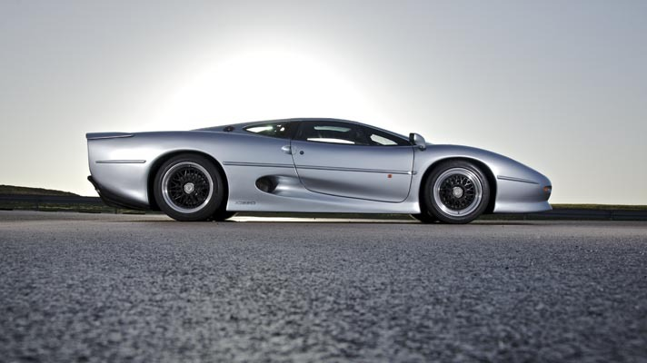 Jaguar XJ220. The one Jaguar you want but can't have.