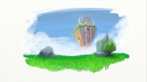 My first proper play around with ArtRage, I like it.