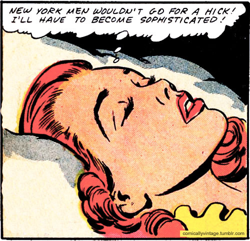 comicallyvintage:  Sex and the City… 1948 Edition.
