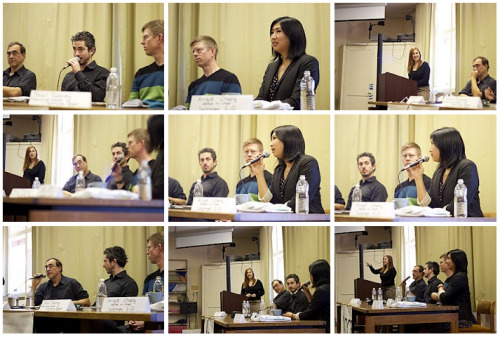 Last Friday, I had the opportunity to moderate a fantastic panel in Palo Alto on Technology and Journalism. The experts included Mike Swift (Reporter for the Mercury News on Facebook and Google), Aaron Selverston (Editor, Palo Alto Patch.com), Dylan Tweney (Executive Editor of VentureBeat) and Angie Chang (Editor, Women 2.0). Here are some pics of the panel!