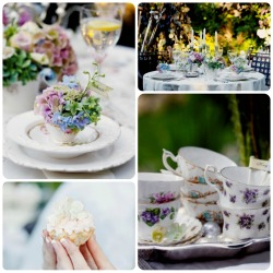 A Garden Tea Party Check out this beautiful Garden Tea Party wedding inspiration that I stumbled on today from the lovely Elizabeth Anne Designs blog. Featuring 'Love in the Garden' shoot by Kailey - Michelle Events. Absolutely beautiful! Nikki