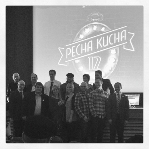 #PKN speakers, including @suehuff, @shorelinegold, @prairiemill  (Taken with instagram)