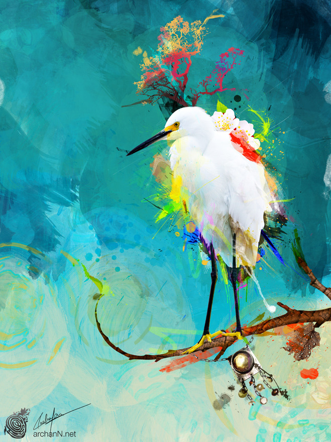"""Evening Sun"" Archan Nair  (India) via Curioos"