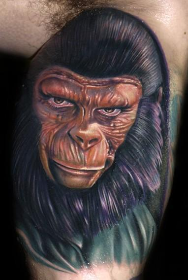 Planet of the Apes by Roman Abrego