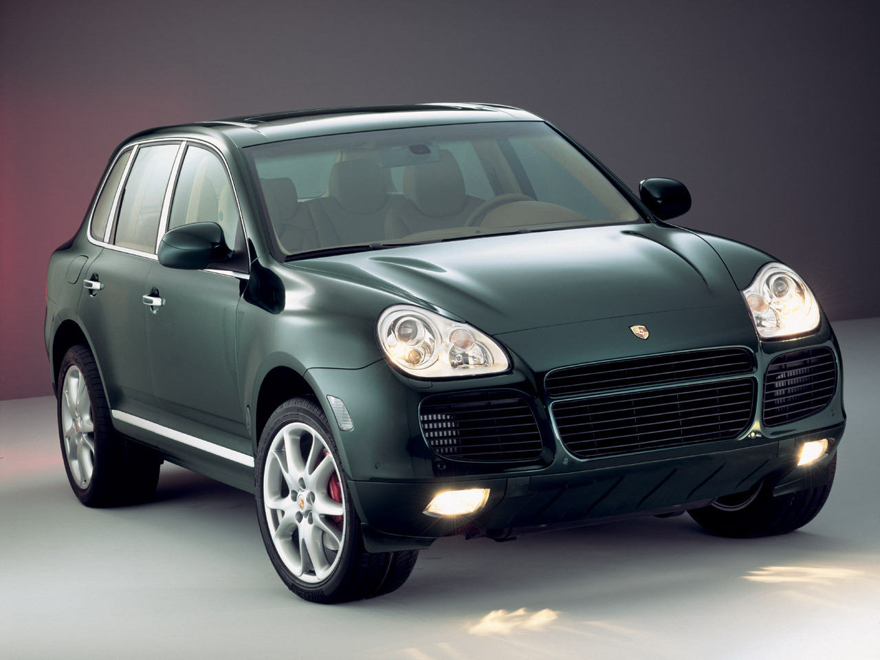 Want: British Racing Green Cayenne - If only it weren't a Volkswagen Touareg with a Porsche logo…