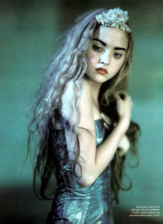 "lavaleur:   Devon Aoki ""Technicolor"" Numero #1 March 1999 by Paolo Roversi"