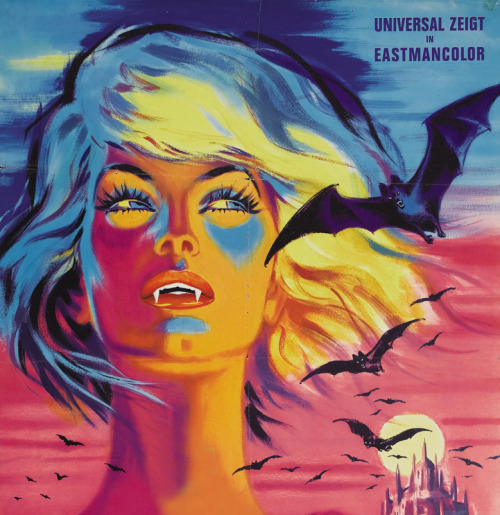 Kiss of the Vampire, German poster (1963)