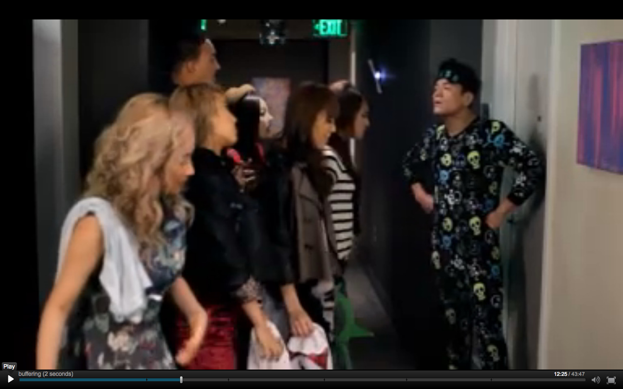 JYP LOOKING AS FLY AS EVER IN THE WONDER GIRLS MOVIE! HAHA!! -Admin Erica