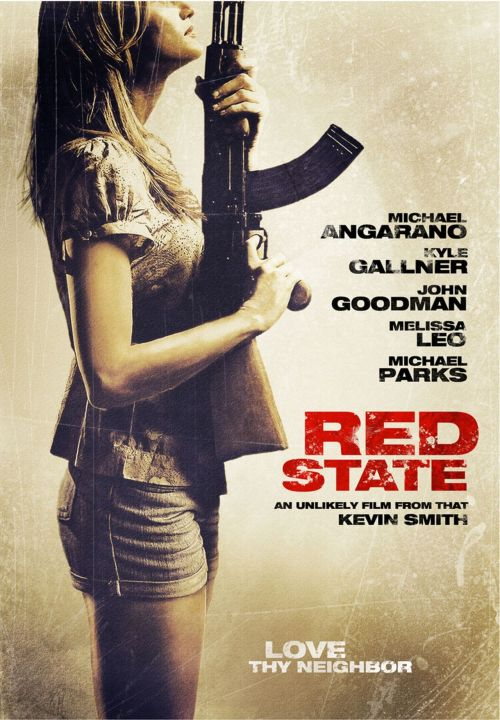 "Movie of the night - ""Red State""..All I can think about when I think of this movie is wow & crazy"