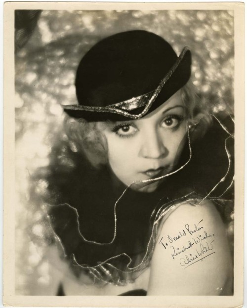 Alice White in Broadway Babies.
