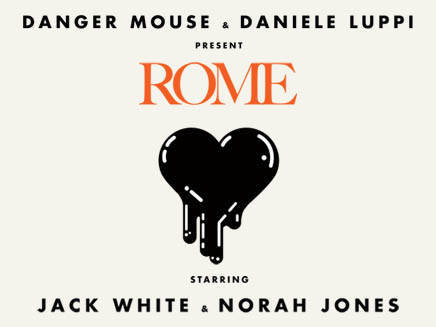 Rome - Danger Mouse & Daniele Luppi featuring Jack White & Nora Jones Album cover from one of the most creative albums of 2011