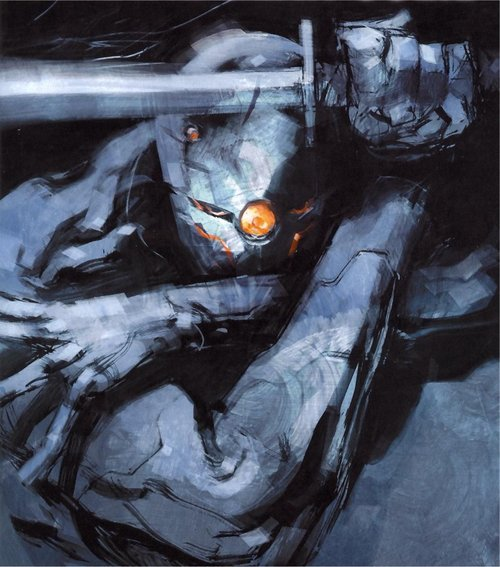 miya-minase:  Gray Fox - Metal Gear Solid